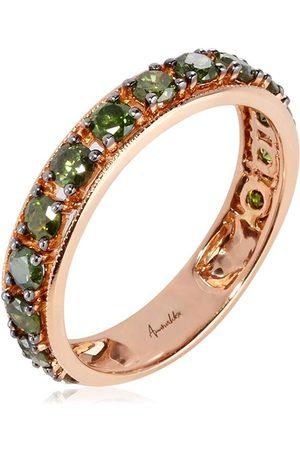 ANNOUSHKA 18kt rose diamond Dusty Eternity ring