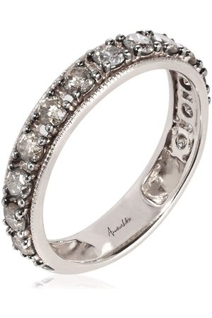 ANNOUSHKA 18kt white gold diamond Dusty Eternity ring
