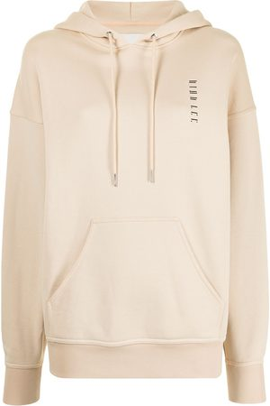 DION LEE Embroidered cotton hoodie