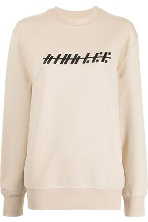 DION LEE Graphic-print cotton sweatshirt