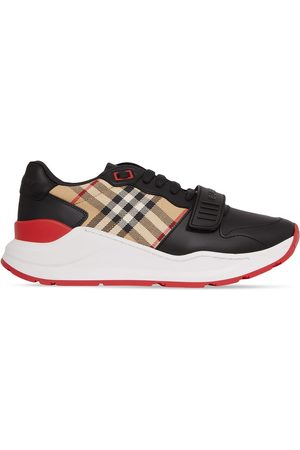 Burberry Vintage Check-print low-top sneakers