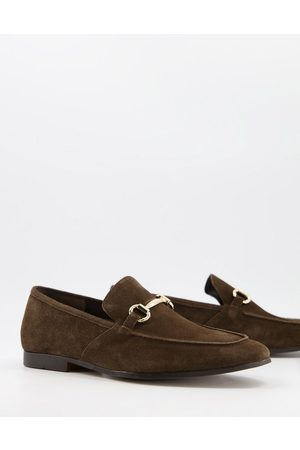 Office Lemming bar loafers in suede