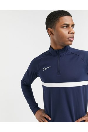 Nike Academy drill top in navy