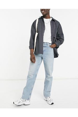 ASOS Relaxed jeans in vintage light wash