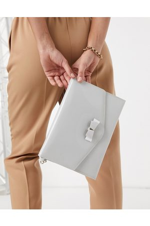 Ted Baker Harliee bow envelope clutch bag in
