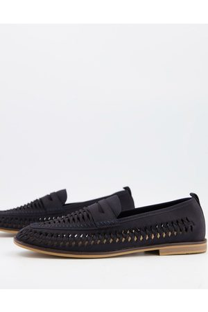 Burton Men Loafers - Cut out loafer in navy