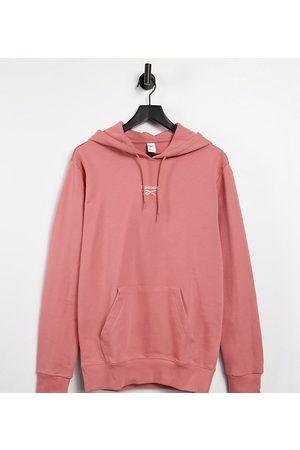 Reebok Boyfriend fit logo hoodie in exclusive to ASOS