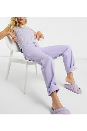 Reclaimed Vintage Women Jeans - Inspired 90's dad jean in lilac wash