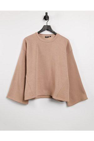 Lasula Oversized sweatshirt in -Neutral