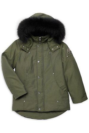 Moose Knuckles Little Kid's & Kid's Fox Fur-Trimmed Parka