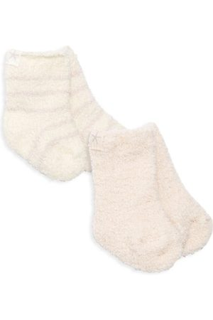 Barefoot Dreams Socks - Baby's Cozychic 2-Pair Socks