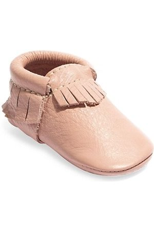Freshly Picked Girls Loafers - Baby Girl's Classic Leather Moccasins