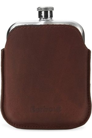 Barbour Leather Flask