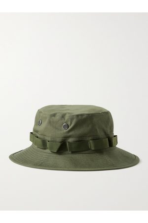 ORSLOW Men Hats - Cotton-Ripstop Bucket Hat