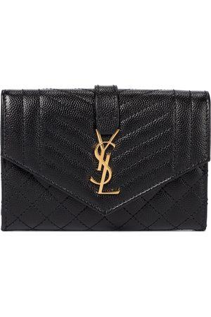 Saint Laurent Women Wallets - Envelope Small leather wallet