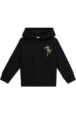 Stella McCartney Boys Sweatshirts - Printed cotton hoodie