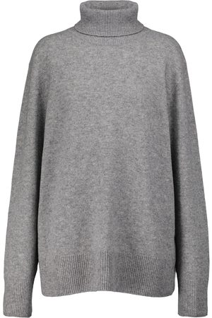 The Row Women Jumpers - Stepny wool and cashmere turtleneck sweater