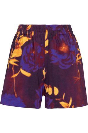 DRIES VAN NOTEN Printed cotton shorts
