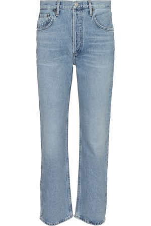 AGOLDE Women High Waisted - Ripley mid-rise straight jeans