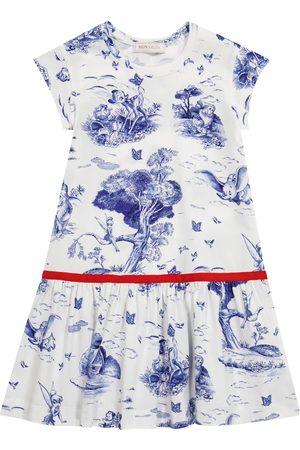 MONNALISA X Disney® stretch-jersey dress