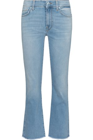 7 for all Mankind Cropped Boot mid-rise jeans