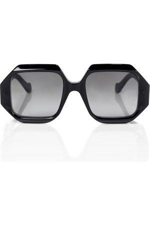 Loewe Anagram hexagonal sunglasses