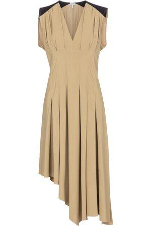 Loewe Asymmetric toile midi dress