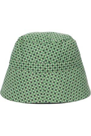 Caramel Girls Hats - Hippocampus printed cotton sun hat
