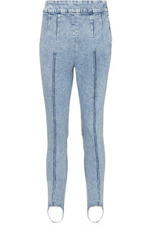 Isabel Marant Nanouli high-rise skinny stirrup jeans
