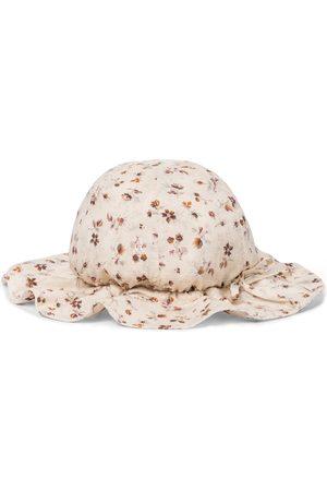 Caramel Girls Hats - Marlin floral sun hat