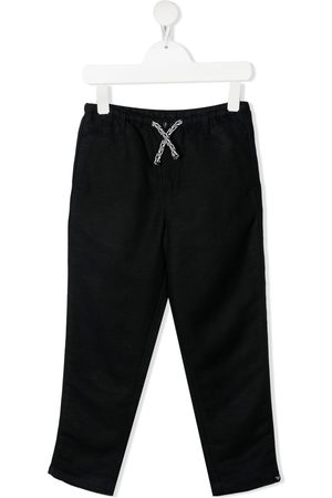 Emporio Armani Boys Pants - Drawstring-waist trousers