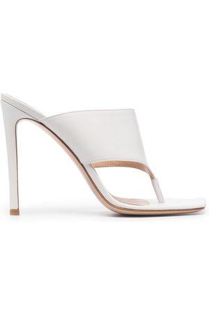 Gianvito Rossi Leather stiletto sandals