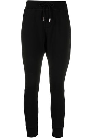 Dsquared2 Women Stretch Pants - Drawstring stretch-fit track pants