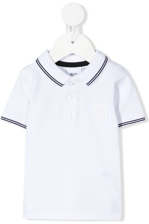 HUGO BOSS Contrast-trim polo shirt