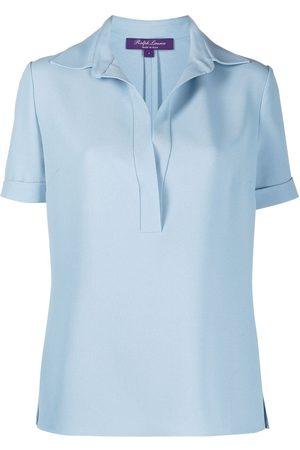 Ralph Lauren Clarisa Crepe Cady blouse