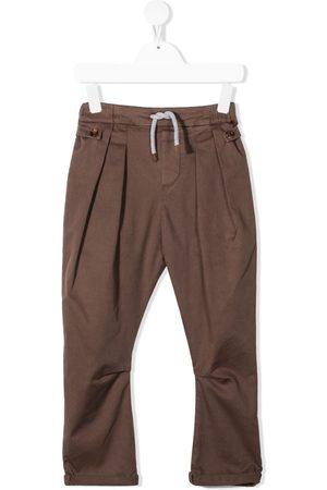Brunello Cucinelli Drawstring chino trousers