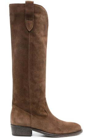 Via Roma Knee-high suede boots