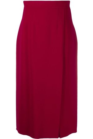 Dolce & Gabbana Women Midi Skirts - High-waist slit midi skirt