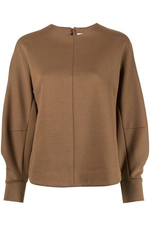MAME KUROGOUCHI Balloon-sleeve sweatshirt