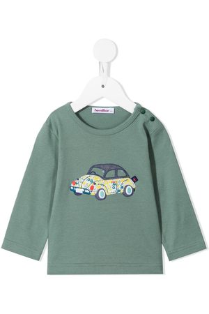 Familiar Baby Long Sleeve - Long-sleeve embroidered t-shirt