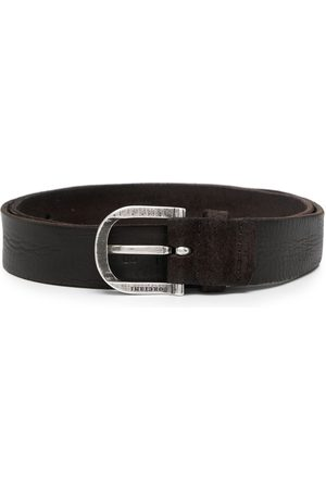 Orciani Hunting brushed-suede belt
