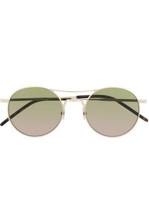Saint Laurent Men Sunglasses - SL421 round-frame sunglasses