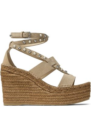 Jimmy Choo Danica 110mm espadrille wedge sandals