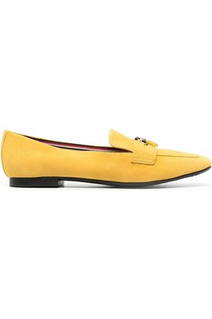Tommy Hilfiger Women Loafers - Logo-plaque detail loafers