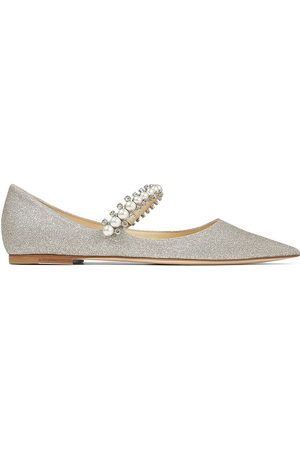 Jimmy Choo Baily embellished ballerina shoes
