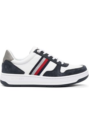 Tommy Hilfiger Basket low-top panelled sneakers