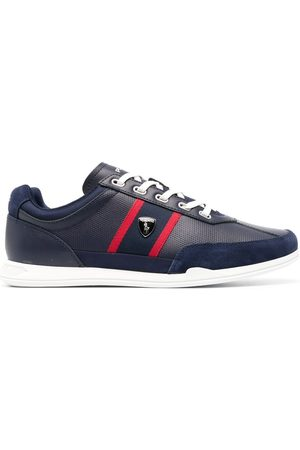 Polo Ralph Lauren Men Sneakers - Logo-plaque detail sneakers