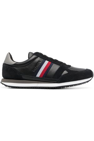 Tommy Hilfiger Stripe-detail lace-up trainers