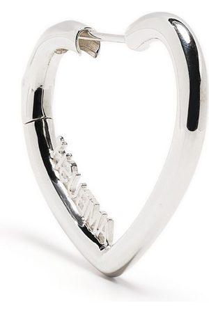 AMBUSH Women Earrings - Mini Heart Hoop earrings