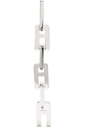 AMBUSH A-shaped chain-link pendant earrings